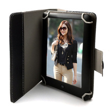 Ebook reader 7inch Touch Screen + pu Leather Case E-book+FM +Video+MP3 music player