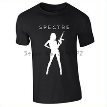 Free Shipping James Bond Spectre 007 Movie new men t shirt cool xs to xxxl men's top tees