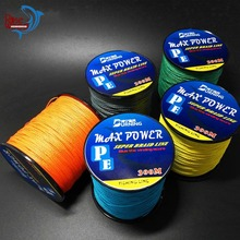 Discount!!! 300M Braided Fishing Line Super Strong PE Braided Lines Multicolor Power Braided Line Wires Sea Fishing Lines(China)