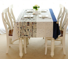 Europe Style Cotton Linen Tablecloth Eiffel Tower Table cloth High-Quality Tablecloth Toalha De Mesa Hotsale