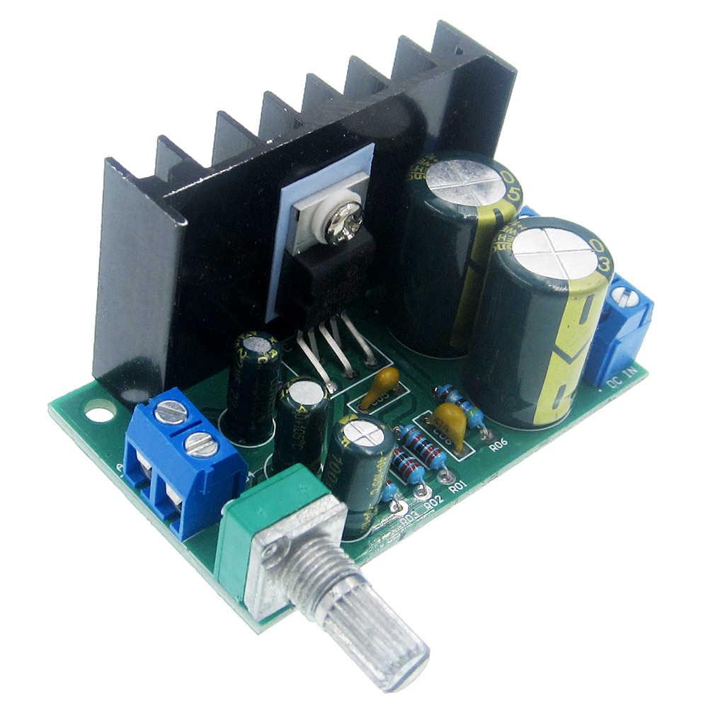 Detail Feedback Questions About 1pcs Tda2030a Module Single Power Tda2030av Integrated Circuit Amplifier Board Tda2050 Mono Audio Dc Ac 12 24v 5w