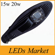 High brightness Led Street Light 15W 20W Outdoor Led Lights street lamp AC85-265V 1500LM Warm Natural Cold White CE&ROHS UL