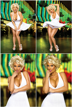 Custom Coco Nicole Austin Poster Sexy Girl Sticker Marilyn Monroe Wallpaper Coco Austin Wall Stickers Kids Home Decor #PN#2457#(China)
