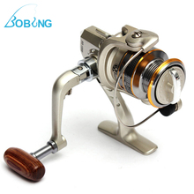 Bobing New Hot sale 6 BB 6BB High Power Gear Spinning Spool Aluminum Fishing Reel SG1000 for Fishing tackle line Bait runner