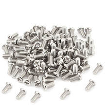 100Pcs/lot M3 Screw 3x4-20mm  Phillips Pan Head Screws Stainless Steel Match M3 Copper Cylinder