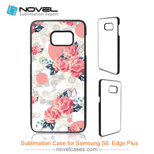 China hot sale 2D PC Blank Sublimation Phone Case For Samsung S6 Edge Plus(China)