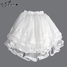 New Fashion Girls Brand Tutu Skirts Baby Childrens  Lace Net Yarn Princess Pettiskirts Kids Dancing Party Performances Clothing