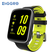 Diggro GV68 Bluetooth Smart Watch IP68 Heart Rate monitor Pedometer Tracker Sleep Monitor Remote Music&Camera for Android & IOS(China)