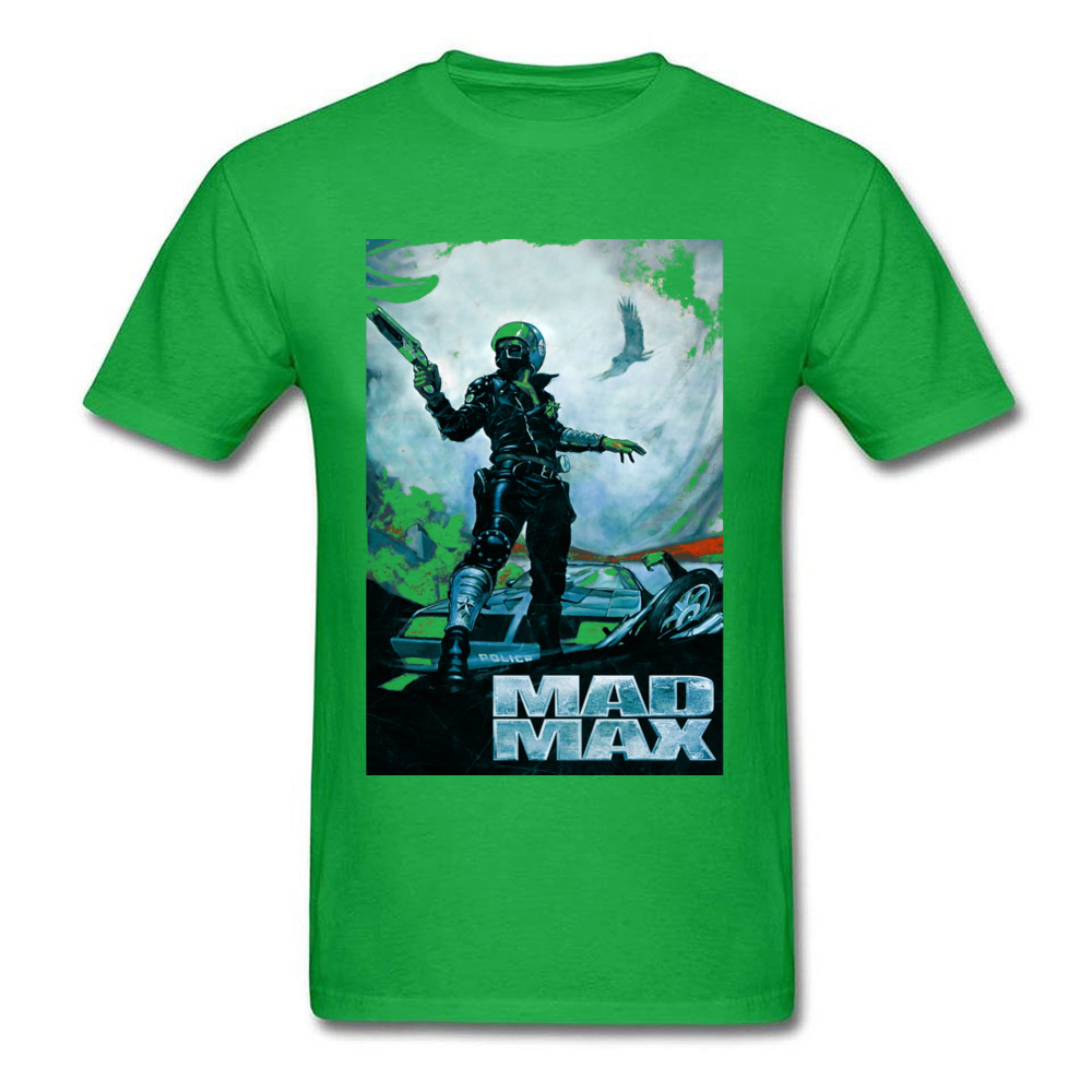 Prevalent Mad Max 23701 Short Sleeve T Shirt April FOOL DAY Crew Neck Pure Cotton Tops Shirts for Male T Shirt Party Mad Max 23701 green