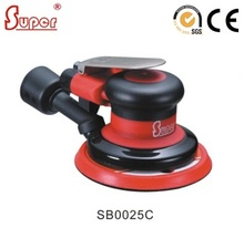 Power Tools Air Random Orbital Sander Palm Polisher 5inch Buffing CENTRAL VACUUM Excentric ORBIT 2.5mm / 5mm (SB0025C)(China)