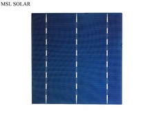 MSL SOLAR Polycrystalline solar cells 156mm*156mm 17% Efficiency 4.1W Grade A High Quality Solar PV cell For DIY 80W Solar panel(China)