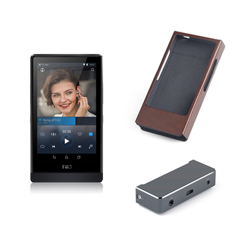 FiiO Hi-Res Music Player X7 with Balanced Amplifier Module AM3+Leather Case LC-X7A