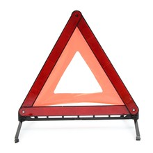 Reflective Traffic Warning Sign Car Triangle Foldable Standing Tripod Emergency