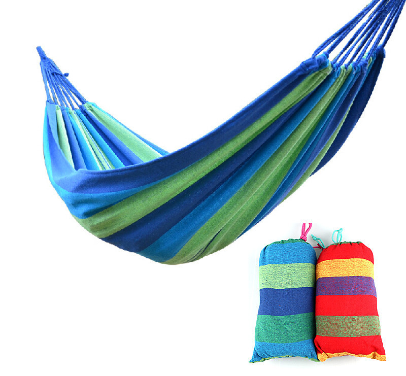 Outdoor Canvas Camping hanging bed chair indoor strap swing Outdoor hammock for camping beach hunting<br><br>Aliexpress