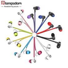 1 Original Langsdom JM21 earphones Microphone Stereo Bass Earphone Headset phone iphone yotaphone Mp3 - s Shopping Store store