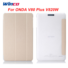 Original  PU Leather Case Flip Cover For Onda V820W V80 Plus 8 Inch Crystal tablet pc Case For ONDA V80 Plus V820W CH