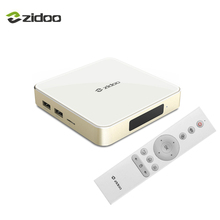 ZIDOO H6 PRO телеприставки Android 7,0 4 К ТВ коробка Bluetooth 4,1 Quad-core DDR4 4 К * 60fps 1000 м LAN двойной WI-FI 10Bit 2BG + 16 ГБ eMMC(China)