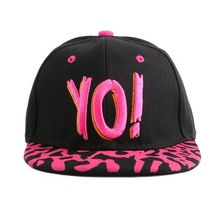 children fashion snapback novelty strapback hats fuchsia black mustache pattern outdoor boy girl hip hop baseball cap baby gorra
