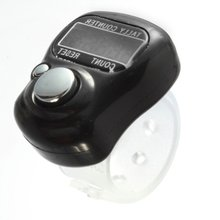 Best Selling  Designed with soft plastic and adjustable band LCD display Hand counter