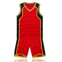 Summer Men Basketball Jersey Sets Uniforms kits Sports shirts clothing Breathable basketball jerseys shorts DIY Custom Print