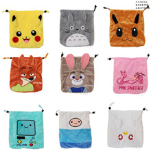 Anime Pocket Monster /Sailor Moon/Totoro/Zootopia etc Jewelry/Cell Phone Drawstring Pouch/Wedding Party Gift Bag (DRAPH_Variety)