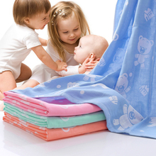 Buy Soft Cotton Gauze Muslin Baby Towel Newborn Infant Cartoon Cotton Towel AbsorbingTowels Soft Washcloth Baby Bath Towel for $7.72 in AliExpress store