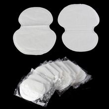Wholesale 100pcs New Underarm Armpit Sweat Pads Shield Absorbing Absorbent Disposable Anti Perspiration Odour Sheet Clothing