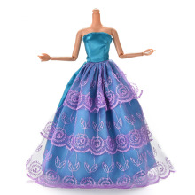 1 Pc Doll New Fashion Handmade Design Outfit Princess Wedding Dress Noble Party Gown For Barbie Best Gift For Girl' Doll