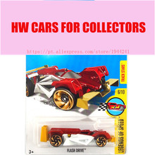 2017 Hot Wheels 1:64 collector red flash drive Metal Diecast Cars Collection Kids Toys Vehicle For Children Juguetes(China)