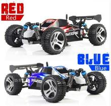 Sale Promotion WLtoys A959 50km/h 4ch 1/18 Scale Remote Control RC Off-road Racing High Speed Car Stunt SUV Toy Gift For Boy(China)
