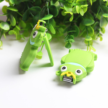 1Pc Medium Size Silicone Animal Cute Toes Nail Clippers Nail Art Cutter Scissor Tips Trimmer Manicure Hand Care Cuticle Tools(China)