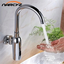 automatic intelligent into the wall sensor faucet cold induction handle with a high profile XR8846(China)