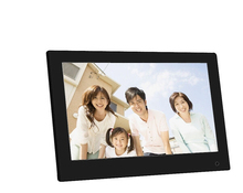 13.3 Inch 1600 * 900 / 16:9 IPS Widescreen Suspensibility Digital Photo Frame Support SD AV HDMI USB