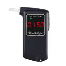 Free Shipping 2016 Patent POLICE High Accuracy Prefessional Police Digital Breath Alcohol Tester Breathalyzer AT858S Wholesale(China)