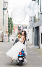 Buy 1pcs 36inch latex balloons Giant Big Balloon Latex Birthday Wedding Party Helium Decoration Kids Super Balloons for $1.00 in AliExpress store