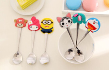 11Designs Cartoon FOR Choice - 15.5CM Stainless Baby Kid's Home Dining Salad Ice Cream Soup Coffee(China)