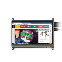 7 inch LCD touch screen display Capacitive screen 800x480 displayer Apply raspberries pi BB BLACK computer HDMI high definition
