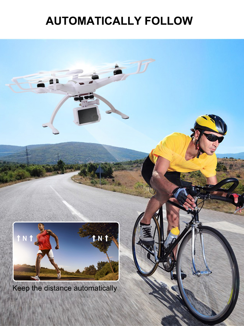 AOSENMA CG035 RC Helicopters WIFI Drone with Camera HD 1080P Quadcopter Gimbal GPS Brushless Motor Follow Me Mode -2