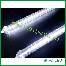 DC24V Auto LED Meteor Tube Lights,smd2835 60leds 0.5m snow fall effects cool white led tube