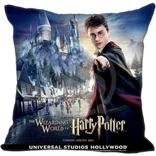 Custom Pillow Case Harry Potter Pillowcase zipper 45x45 cm(one Side) free shipping