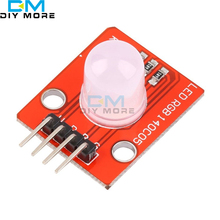 2PCS 10MM RGB LED Module Light Emitting Diode for Arduino STM32 5V M92