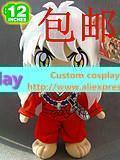 Inuyasha muppets Inuyasha plush red handsome plush doll 30cm cute toy gift