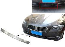 2011 2012 2013 For BMW 5 series 5GT f07 /f10 front bumper proector plate cover sill 1pcs