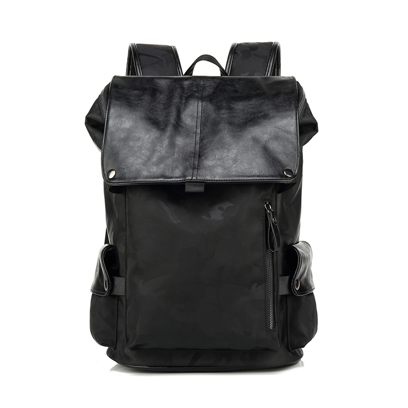 Brand waterproof 15.6 inch laptop backpack men leather backpacks for teenager Men Casual Daypacks mochila male fashion hot sale<br>