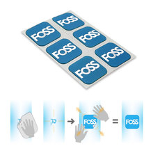 6pcs/Set Foss Bicycle Tire Repair Patch MTB Road Bike Tube Repair Pad Tool Inner Tyre Service(China)