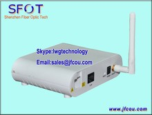 Network Routers Telecom Equipment 1FE ONU WIFI EPON GEPON ONU ONT, comply with ZTE and Fiberhome OLT