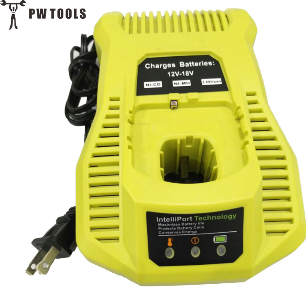 PW TOOLS 12V-18V Battery Charger for NI-CD NI-MH LI-ION Rechargeable Battery Fast Charging Electric Tools Battery Charger<br>