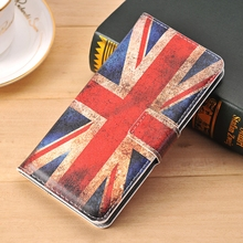 For Samsung Galaxy S4 Mini Leather case Retro Flip wallet case GT-I9195 I9190 I9192 FLower UK Flag Butterfly pattern Coque(China)