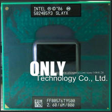 Free Shipping CPU laptop Core 2 Duo T9500 CPU 6M Cache/2.6GHz/800/Dual-Core Socket 479Laptop processor for GM45/PM45(China)