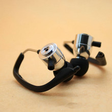 10mm Sport headphone shell Ear hook can be rotated 360 degrees, you can disassemble for diy eraphone headset(China)
